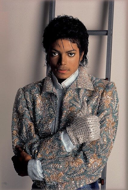 Photo Michael Jackson - courtesy of Sony Music France